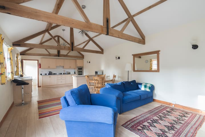 Rural barn conversion near Norwich