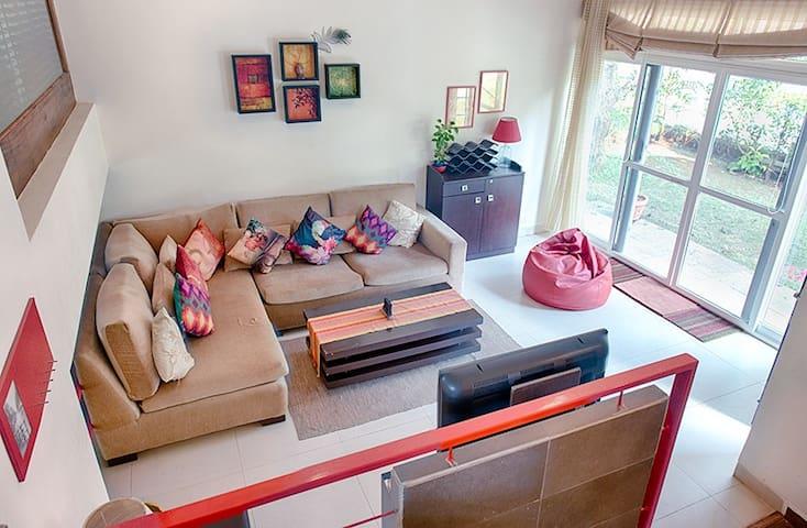 A beautiful cosy home in a quaint Goan village