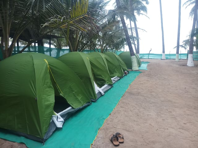 The Sand Stay...a beach side camping