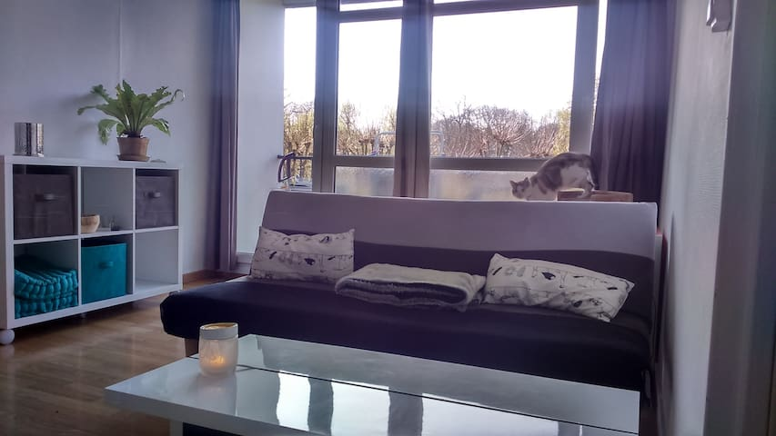 Appartement sur les hauteurs de Rouen - Mont-Saint-Aignan - Apartemen