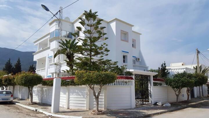 Belle Villa bord de plage