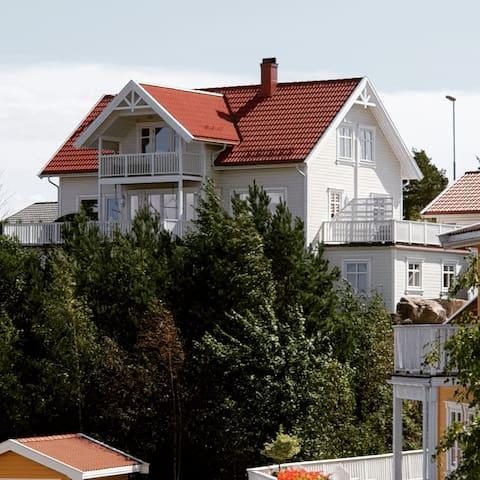 Oceanview house ved Kragerø Golfresort +båtplass