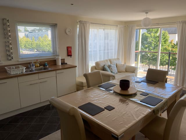 Stunning Double Aspect Apartment with Lake Walk