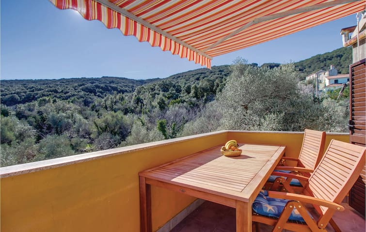 Holiday apartment with 1 bedroom on 37m² in Valun