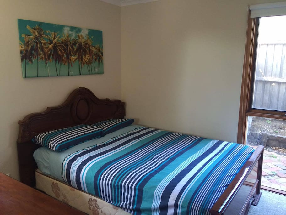 Downstairs Double Bed Bedroom 2