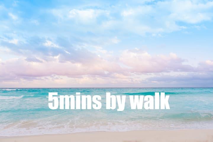 Best Location & Price - 50% discount & free Beach