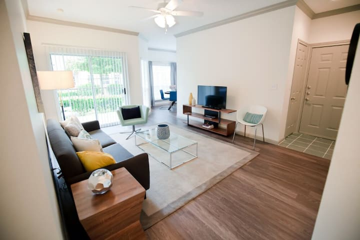 Live + Work + Stay + Easy | 2BR in Katy