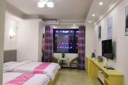 我爱我家.公寓简约双床房.出租