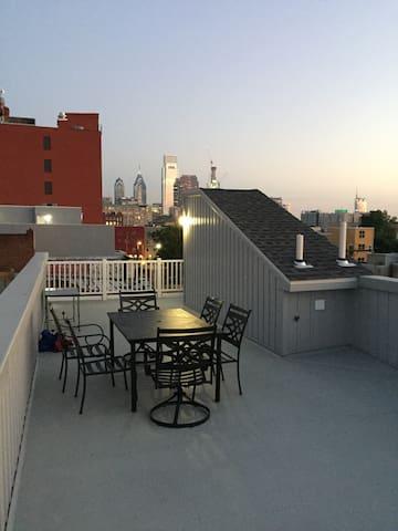 1BD Condo w/ Amazing City View - Philadelphie - Appartement en résidence