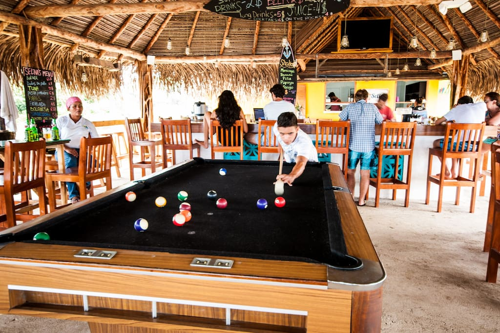 """Excellent staff, greatttt food and amazing place to relax and enjoy. I forgot my phone at the bar, and one of the bartenders kindly return it to my friends while I was sleeping in a hammock (very comfy)."" Eva - Panama"