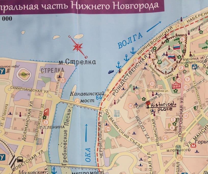 """ул.Ильинская - самый центр города, традиционно был """"спальным"""" купеческим районом, в отличие от торговой ул.Рождественской"""