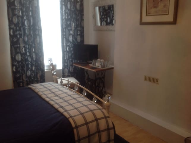 A double room in a period house