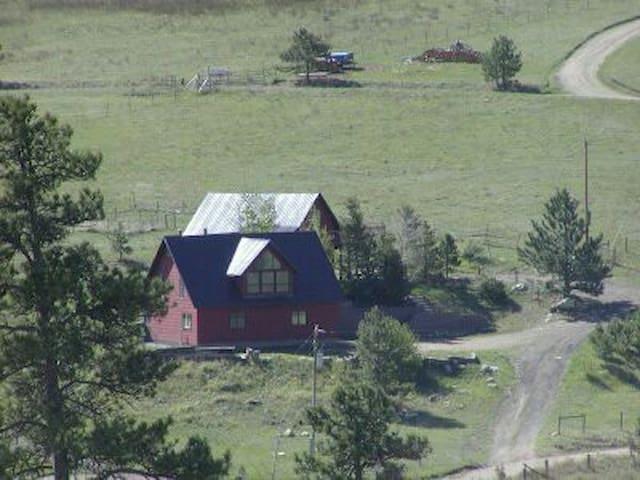 Estes Park, CO Area Charming 2100sf Mtn Cabin Home - Drake - House