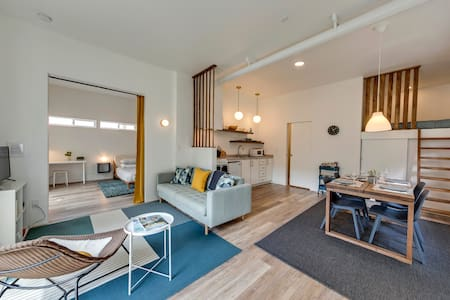 River Rafter's Delight, Main floor apartment