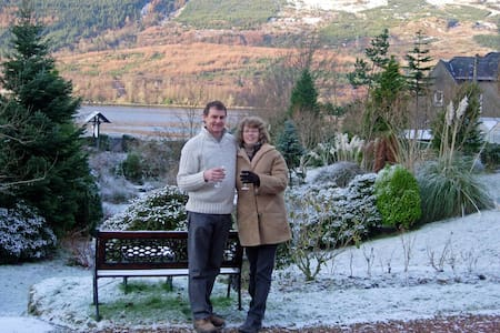 Double room in Character Victorian House by loch - Arrochar - Bed & Breakfast