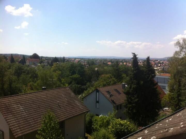 Traumhafter Fernblick über Heilbronn