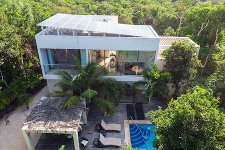 Beautiful House in the Riviera Maya-Tulum Area, MX