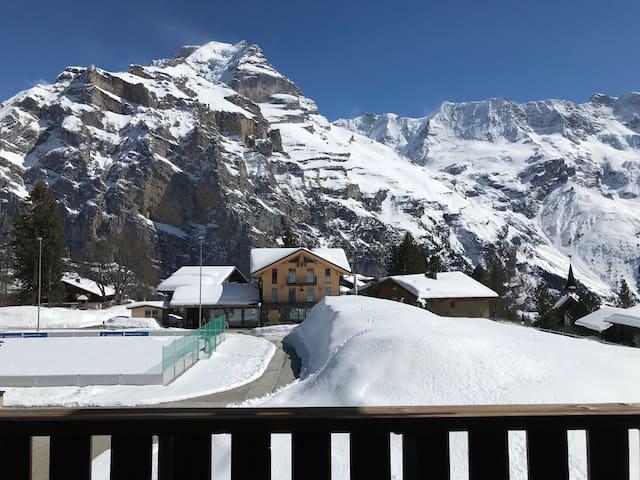 Wellness Oasis within Alpine Sports Center Mürren