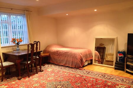 Bedsit for up to 3 shared bathroom - Loughton - Bed & Breakfast