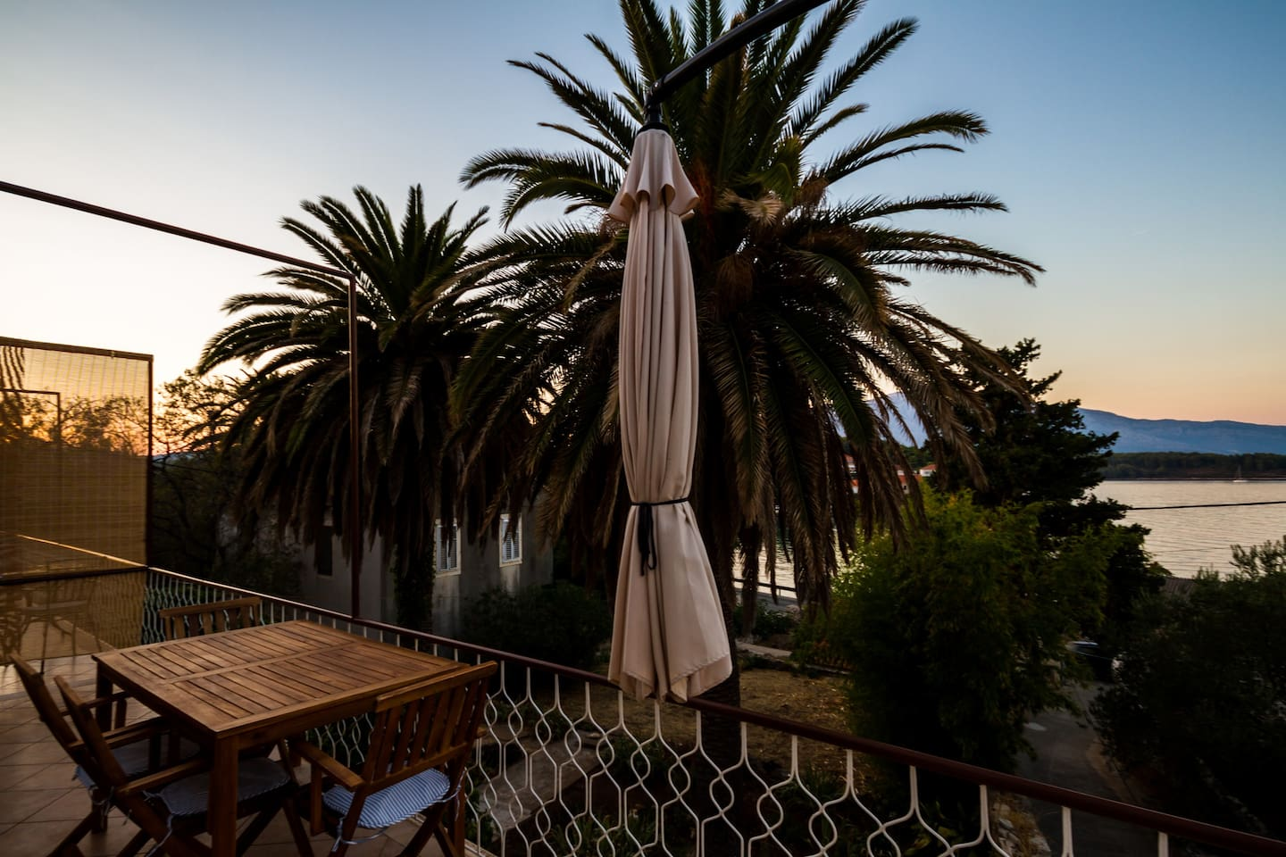 Our terrace with amazing view