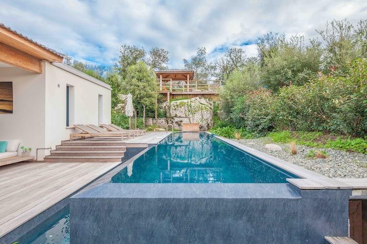 Incroyable Villa 5* piscine chauffée