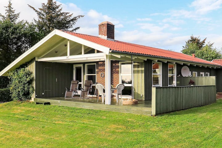Balmy Holiday Home in Jutland with Terrace