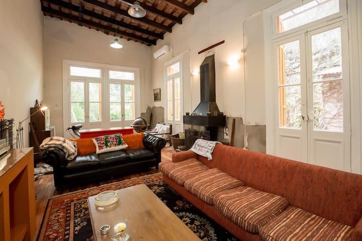 Habitación con baño privado en una vieja casona - Buenos Aires - Ev