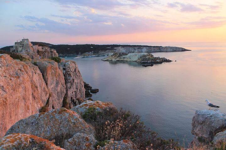 """Casa Vacanze  """"I TRE MITI"""" - Isole Tremiti (Fg)"""