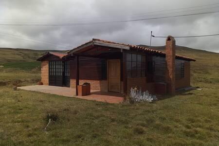 Hermosa cabaña, descanso,aire puro y tranquilidad
