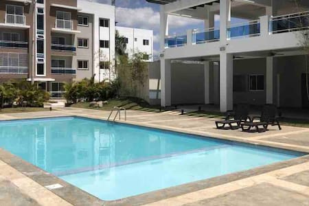Apartmento amueblado lujoso y comodo con piscina @
