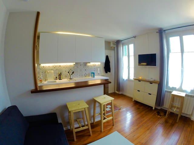 Appartement charmant proche INSEAD