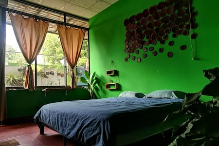 Con Dao Island Forest Themed King Room @ Loco Home