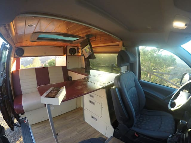 CAMPERVAN RENTAL IN MADRID