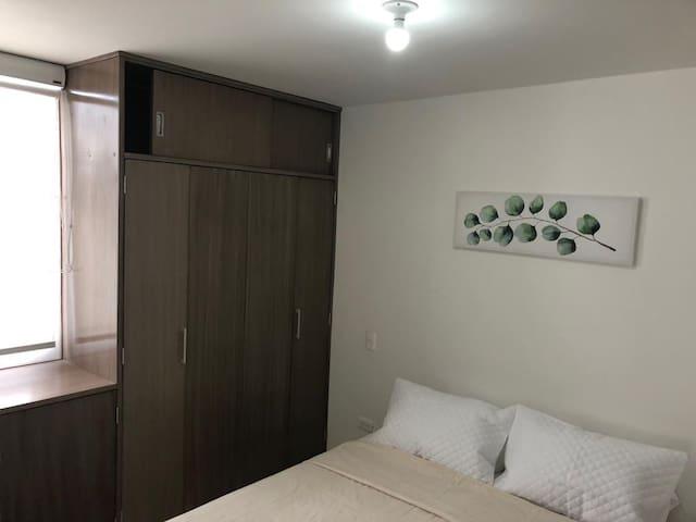 Habitación principal como cama doble