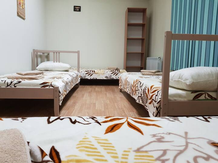 Hostel Well комната для женщин на 4 места