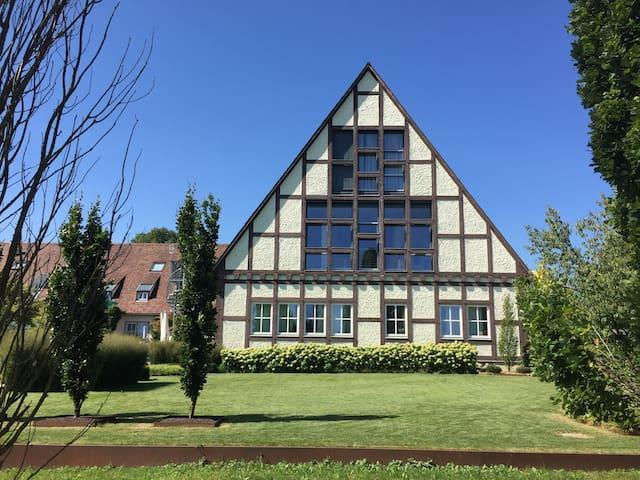 Luxus Wohnung im Grünen