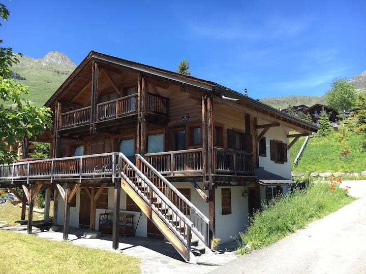 Amazing large chalet in Verbier