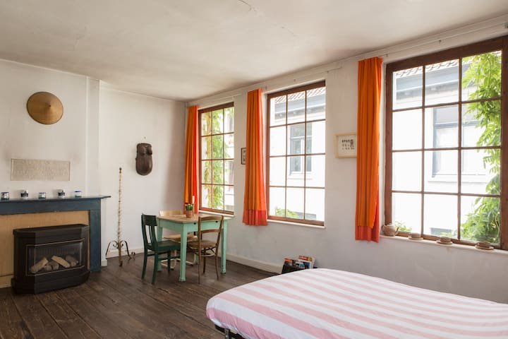Spacious bright room in city centre - Ghent - 獨棟