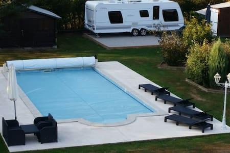 caravane d'habitation
