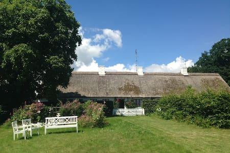 Landlig idyl og havudsigt - Langebæk - Rumah
