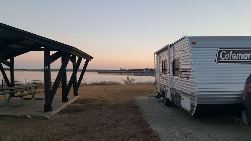 *CAMPER rental* Austin area. You tow to a campsite