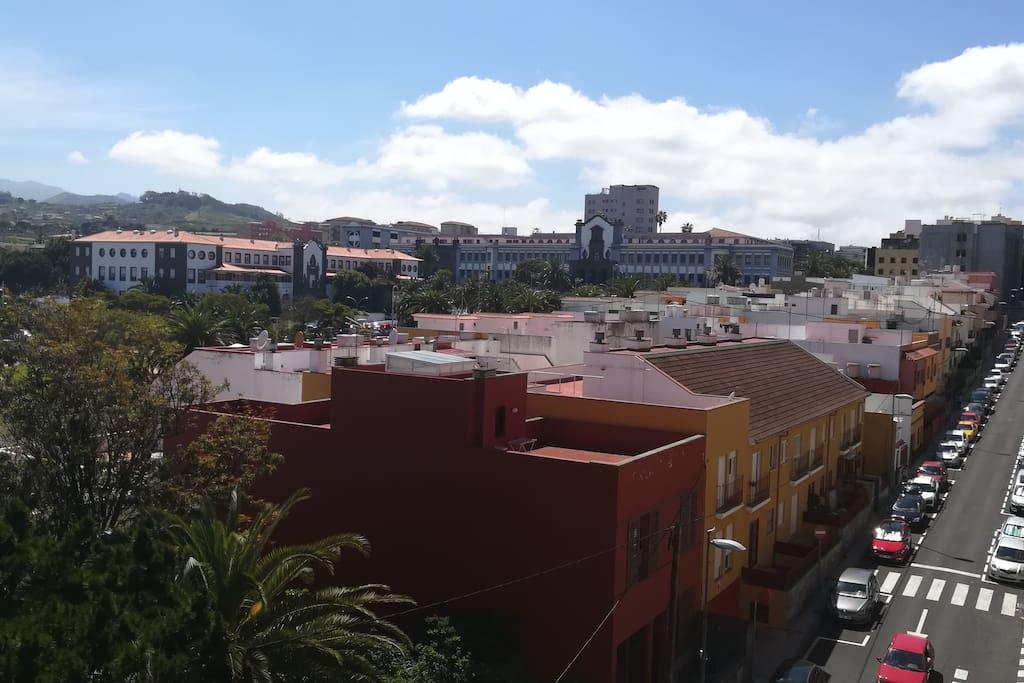 Vistas desde el apartamento Flat Mª Cristo Ossuna