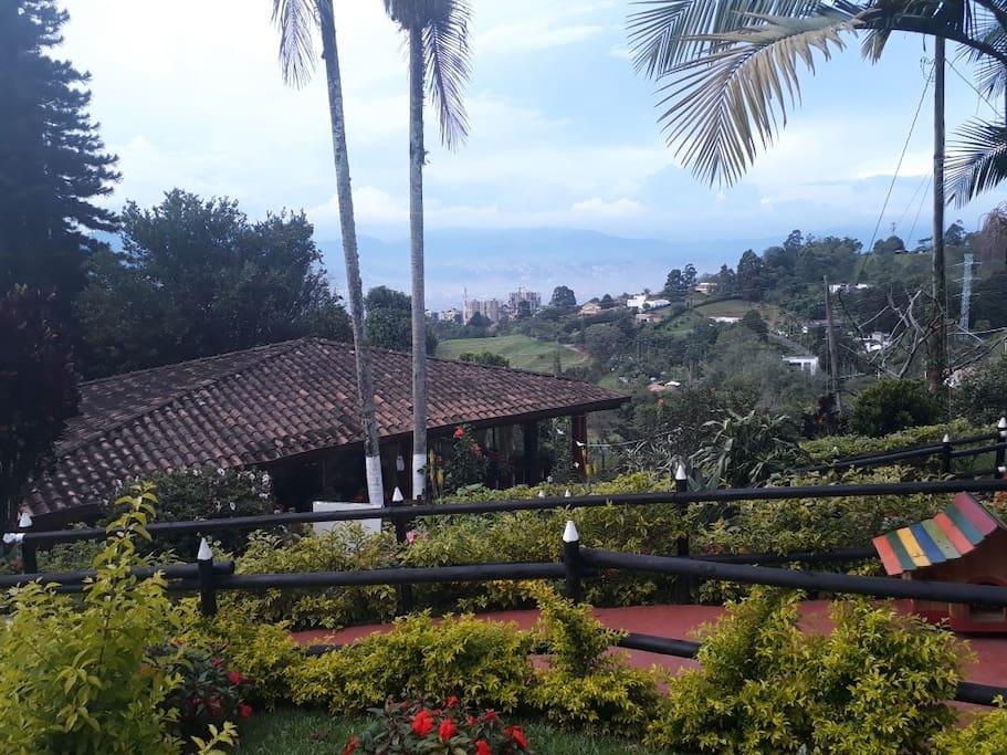 Vista ciudad de Medellín.