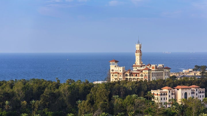 Ocean view Montazah Sheraton Apartment's towers