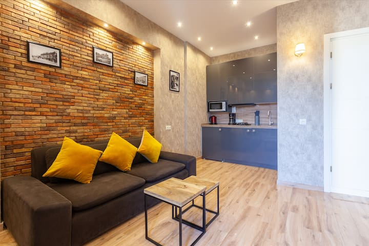 Relax at a comfortable and clean living space after you have been exploring the city.