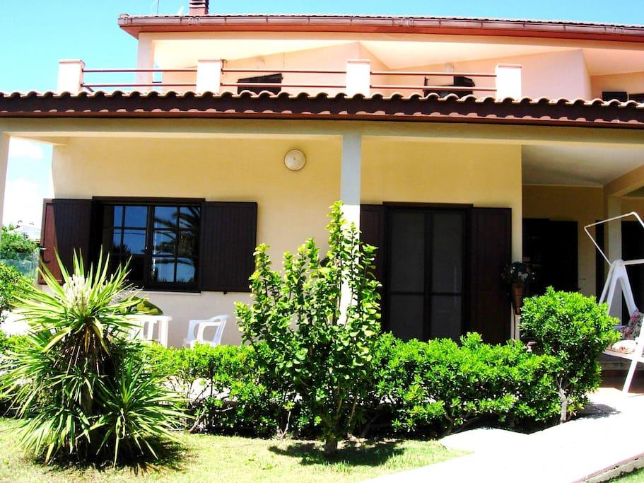 ingresso Villa Ro