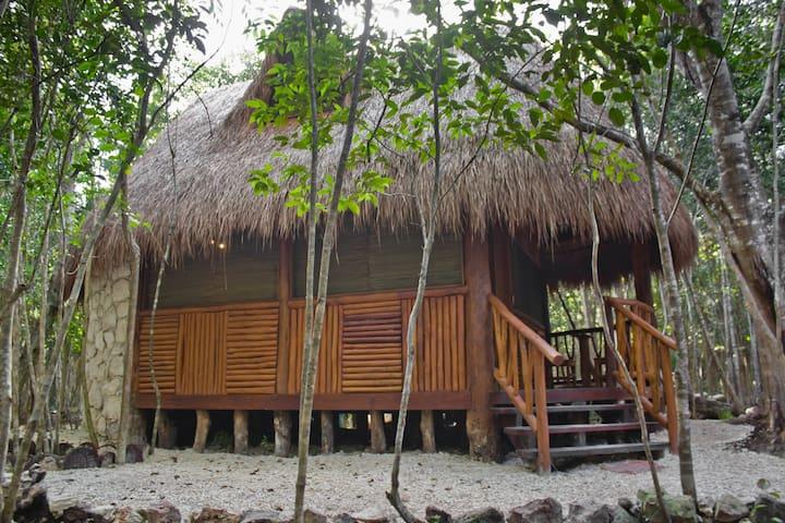 Cabaña Lets' bal Eek'e' con cenote exclusivo