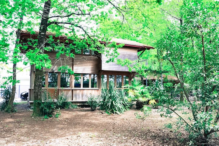 The Cabin under the trees, cosy, warm and loving - Andernos-les-Bains - Huis