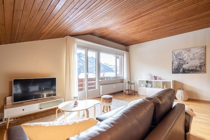 Quiet holiday apartment 10 minutes from Interlaken