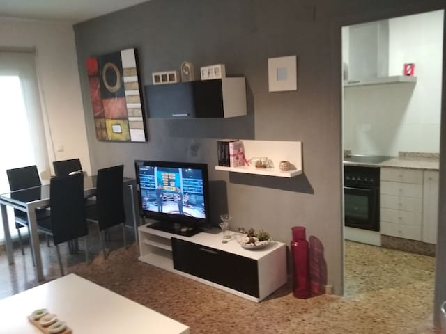 Acogedor apartamento en l salvaje playa d Almenara